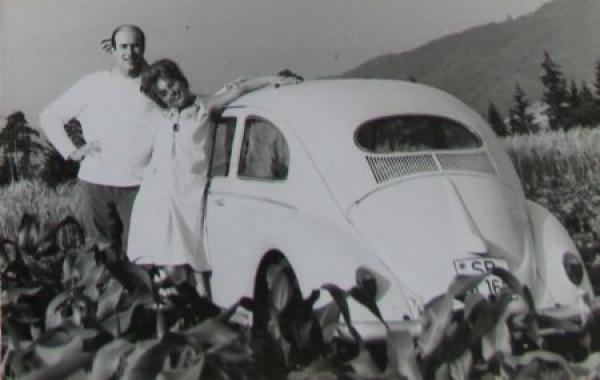 Volkswagen Käfer 1966 Originalphoto