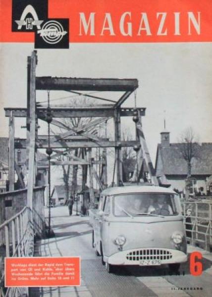 """""""Hanomag Tempo Magazin"""" Firmenzeitschrift 1961"""