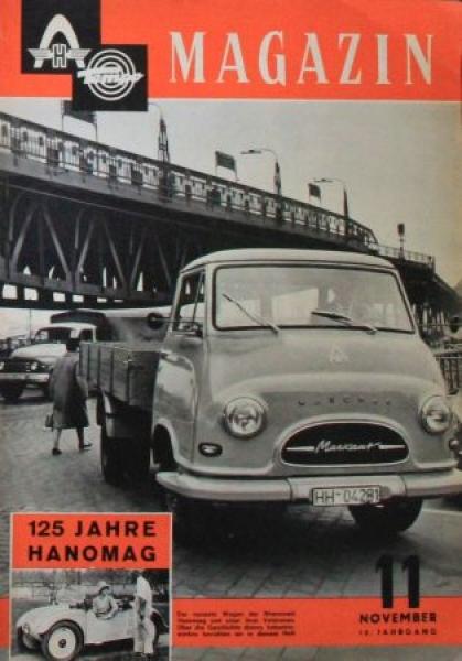 """""""Hanomag Tempo Magazin"""" Firmenzeitschrift 1960"""