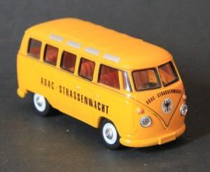 "Schuco Samba-Bus T1 ""ADAC-Straßenwacht"" 1967 Metall"