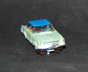 Faller AMS Mercedes-Benz 230 SL Coupe Kunststoffmodell mit Motor 1964