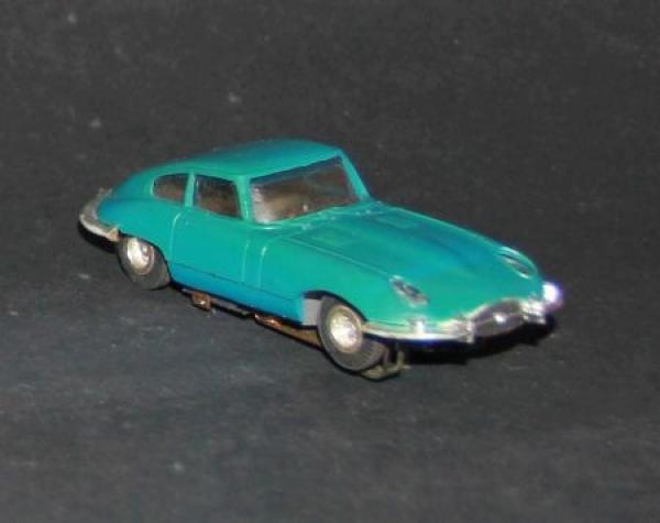 Faller AMS Jaguar E Type Kunststoffmodell mit Motor 1965