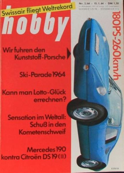 """Hobby - Das Magazin der Technik"" Porsche 904 GTS 1964 Technik-Magazin"