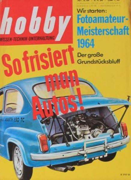 """""""Hobby - Das Magazin der Technik"""" Abarth Tuning 1964 Technik-Magazin"""