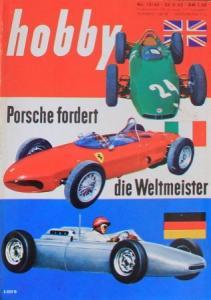"""""""Hobby - Das Magazin der Technik"""" Porsche Rennsport 1962 Technik-Magazin"""
