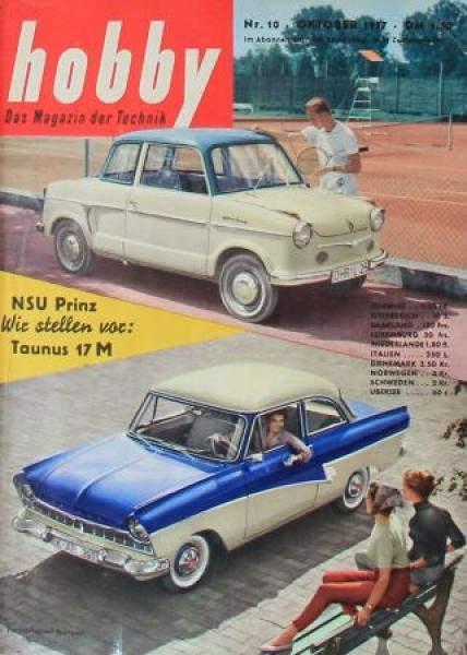"""Hobby - Das Magazin der Technik"" Ford Taunus 17M 1957 Technik-Magazin"
