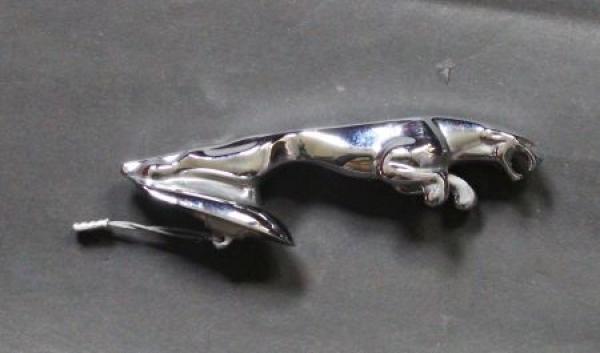 Jaguar Kühlerfigur Metall verchromt 1990