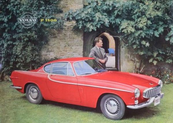 Volvo P 1800 Modellprogramm 1961 Automobilprospekt