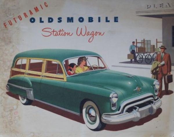 Oldsmobile Futuramic Station Wagon 1949 Automobilprospekt