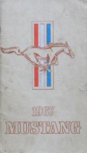 Ford Mustang 1967 Betriebsanleitung