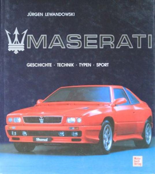 "Lewandwski ""Maserati"" Maserati-Firmen-Historie 1994"