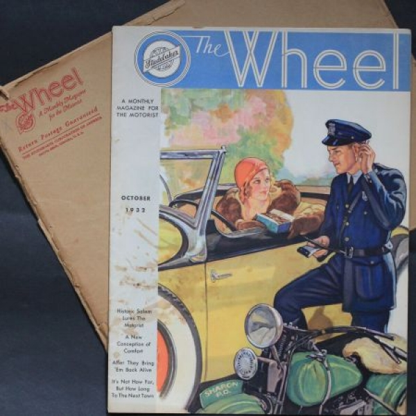 """The Wheel"" Studebaker-Firmenmagazin 1932"