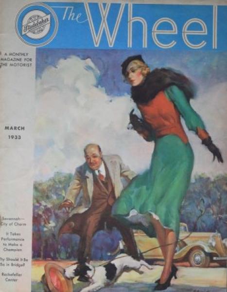"""The Wheel"" Studebaker-Firmenmagazin 1934"