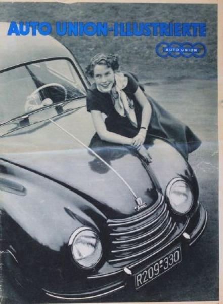 """Auto-Union Illustrierte"" DKW-Magazin 1953"
