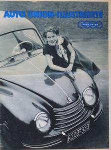 "DKW ""Auto-Union Illustrierte"" Firmen-Magazin 1953"