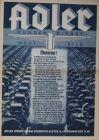 """Adler """"Kundendienst in Wort und Bild"""" 1934 Automobilprospekt"""