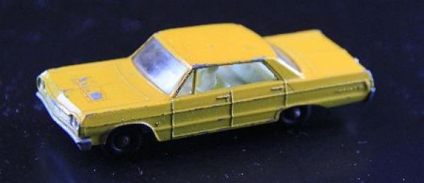 Matchbox Lesney Chevrolet Impala Taxi 1964 Metallmodell