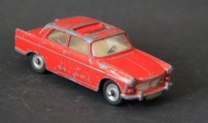 Dinky France Peugeot 404 Metallmodell 1965