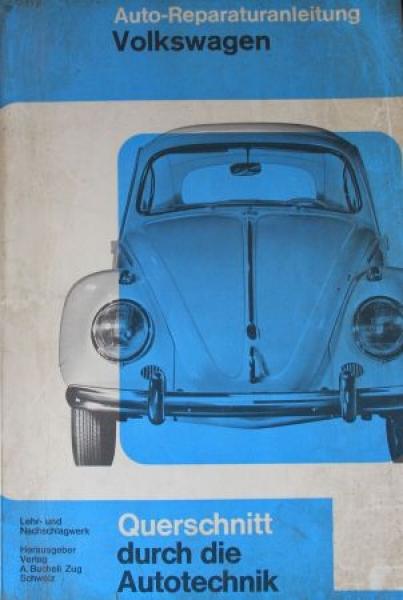 "Bucheli ""Volkswagen Käfer Reparaturanleitung"" 1960"