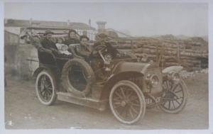 Berliet 4-Sitzer Cabriolet 1912 Postkarte