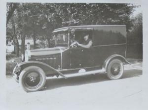 Opel 4/12 PS Lieferwagen 1928 original Photo