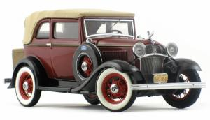 Franklin Mint Ford Convertible Sedan Bonnie & Clyde 1932 Metallmodell