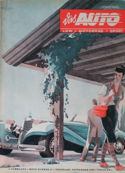 """""""Das Auto"""" Magazin 1949"""