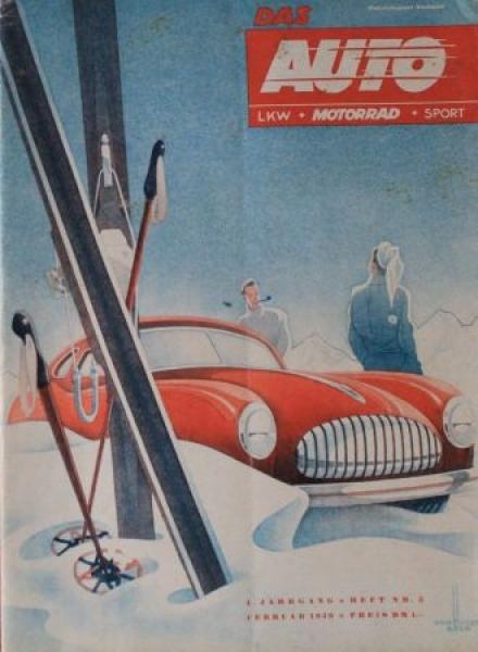 """""""Das Auto"""" Magazin 1947"""