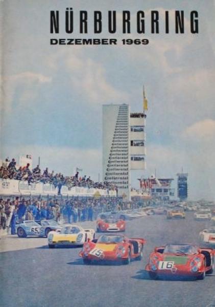 """""""Der Nürburgring"""" Rennsport-Zeitschrift 1969"""