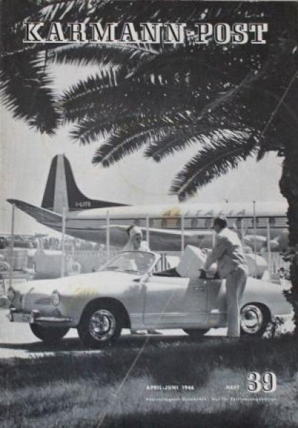 """Karmann-Post"" Firmen-Zeitschrift 1966"