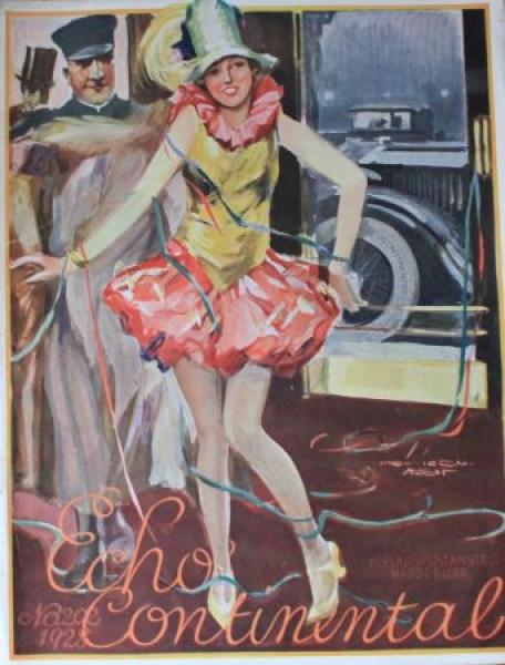 """""""Echo Continental"""" Firmenzeitschrift 1928"""