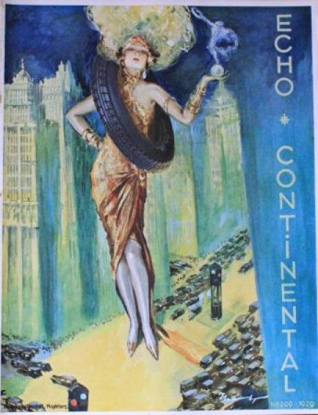 """""""Echo Continental"""" Firmenzeitschrift 1929"""