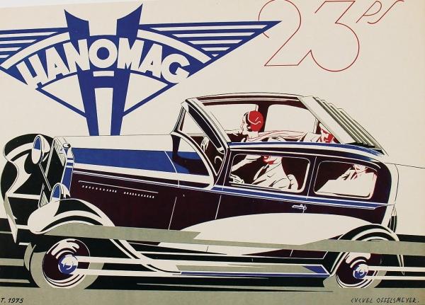 Hanomag 23 PS Modellprogramm 1931 Automobilprospekt 0