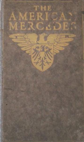 American Daimler Mercedes Modellprogramm 1906 Automobilprospekt