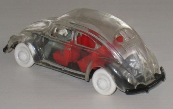 Wiking Volkswagen Brezel-Käfer 1952 Glasmodell mit Fahrer 2