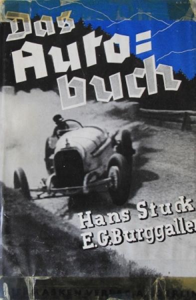 """Burggaller """"Das Autobuch"""" Motorrennsport-Saison 1933"""
