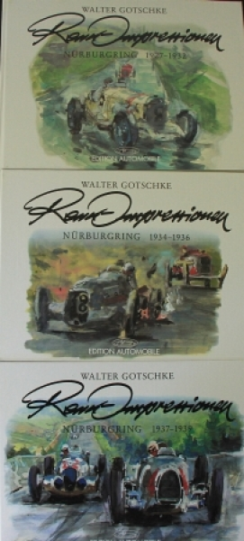 "Gotschke """"Renn-Impressionen - Nürburgring 1927-1939"" Motorsport-Historie 1990"