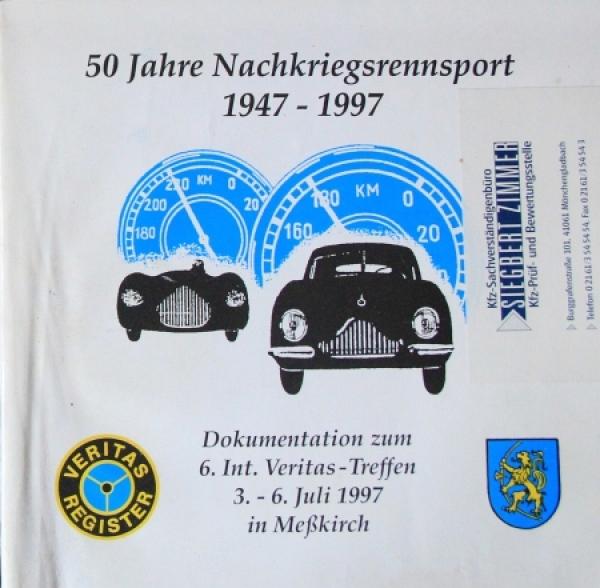 "Veritas ""50 Jahre Nachkriegsrennsport 1947-1997"" Motorrennsport-Historie 1997"