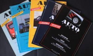 """Auto Focus"" Automobil-Magazin 1992-93 fünf Ausgaben"