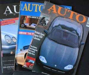 """""""Auto Focus"""" Automobil-Magazin 1995 drei Ausgaben"""