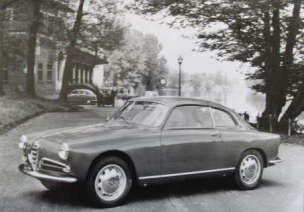 Alfa Romeo Giulietta Sprint 1955 Werksfoto