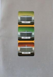 Mercedes-Benz 280 S-SEL 1975 Automobilprospekt