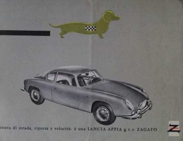 Lancia Appia Zagato 1961 Automobilprospekt
