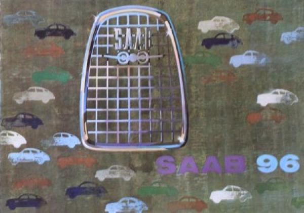 Saab 96 Modellprogramm 1962 Automobilprospekt