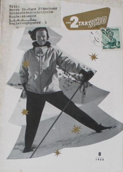 """""""Das 2 Takt Echo"""" Goliath-Magazin 1955"""