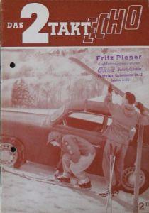 """""""Das 2 Takt Echo"""" Goliath-Magazin 1953"""