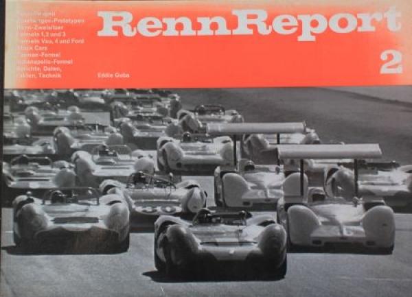"Guba ""Renn Report 2"" Motorsport-Jahrbuch 1969"