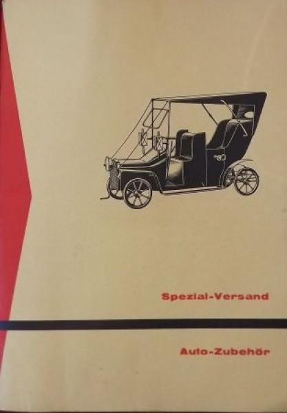 Volkswagen Auto-Zubehör Katalog Georg von Opel 1956