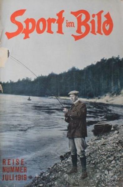 """""""Sport im Bild"""" Rennsport-Magazin 1919"""