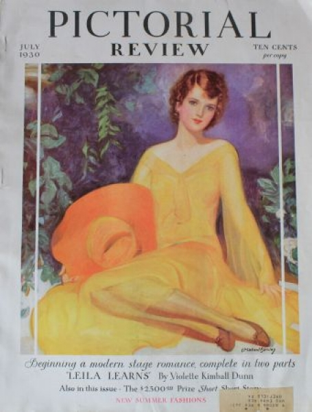 """""""Pictorial Review"""" Society-Magazin 1930"""